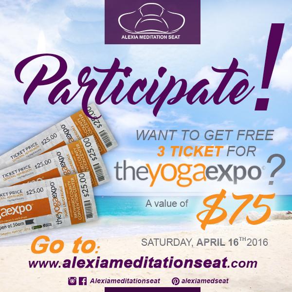 WIN 3 TICKETS THE YOGA EXPO